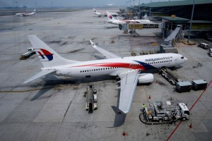 Malaysia Airlines Boeing 737-800 aircraft is seen on the tarmac at Kuala Lumpur International Airport in Sepang
